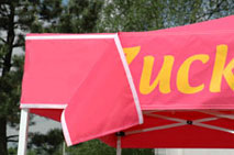 Wechselbanner Farbe Pink